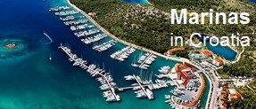 Marinas in Croatia