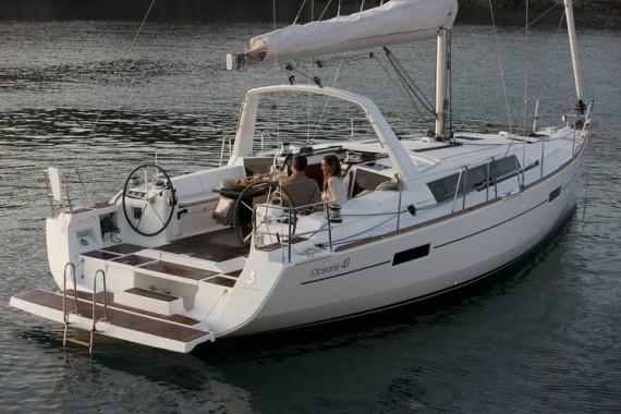 Oceanis 41 charter
