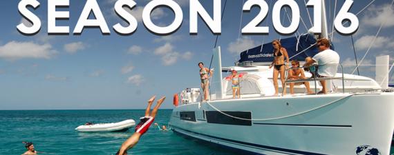 2016 Season bookings