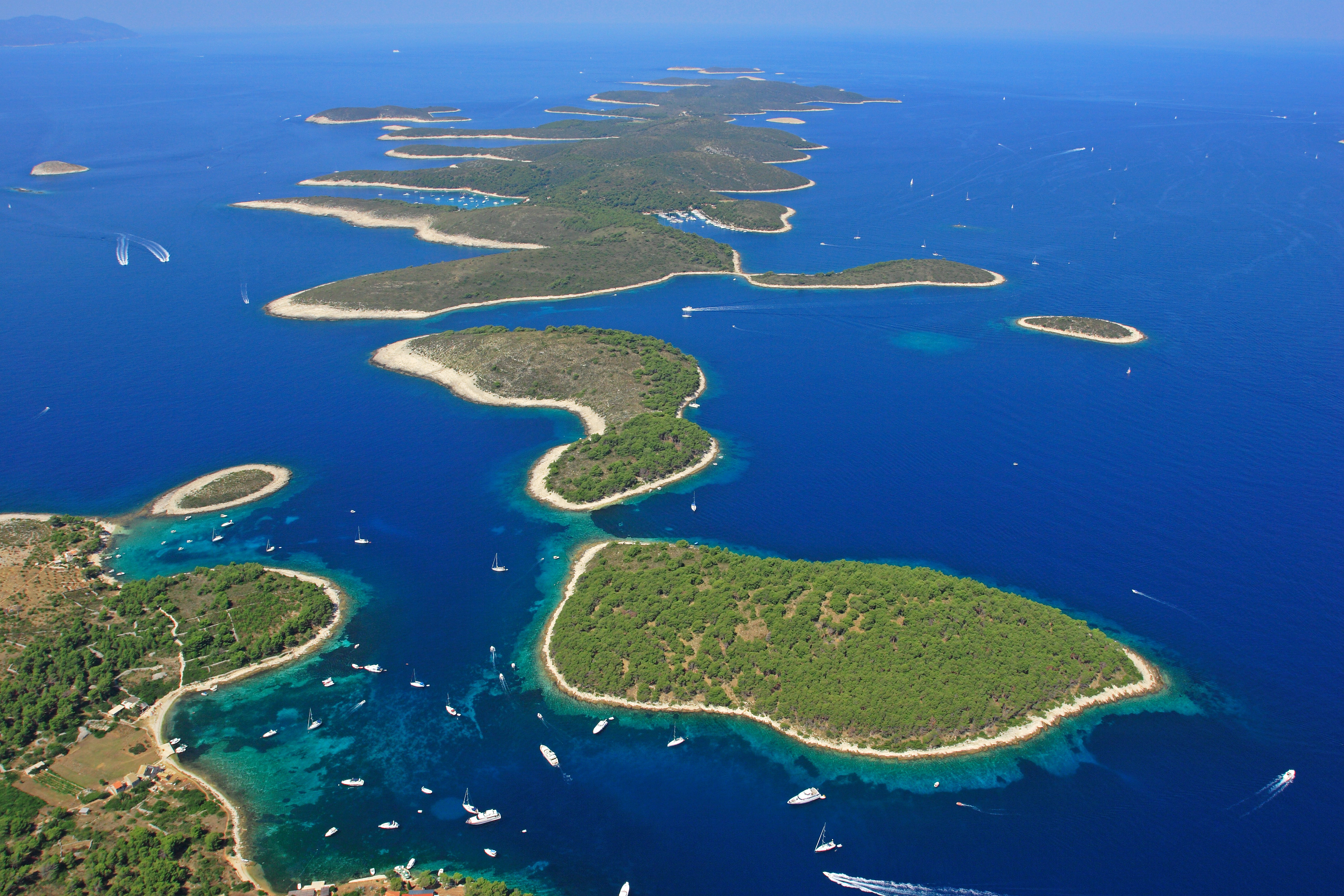 Top 3 Bays To Visit Sailing Pakleni Islands Charter Croatia
