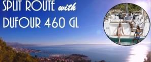 Split sailing route