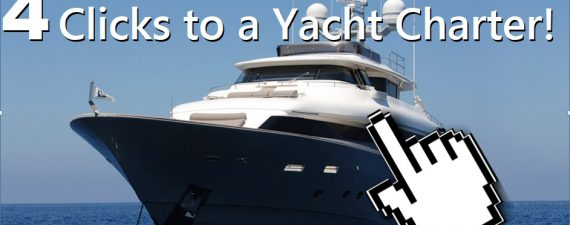 4 clicks to a yacht charter