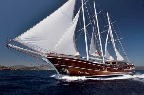 gulet sailing dolce vita