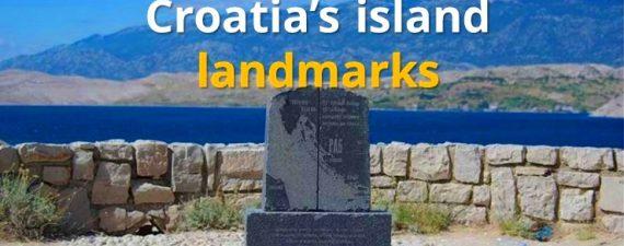 croatia island landmarks