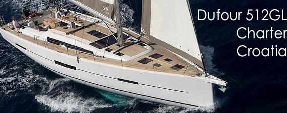dufour 512 GL charter croatia