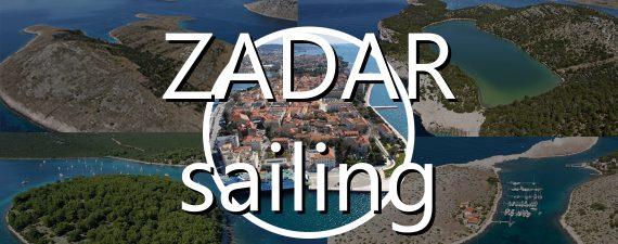 zadar sailing route