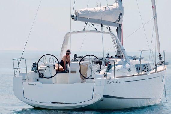Beneteau oceanis 35.1 charter croatia